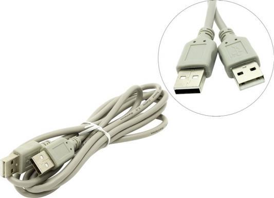 Кабель соединительный USB 2.0 AM-AM 1.8м 5bites UC5009-018C аксессуар 5bites usb am min 5p 1 8m uc5007 018c
