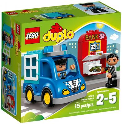 Конструктор LEGO Duplo Полицейский патруль 15 элементов 10809 lego lego duplo 10572 механик