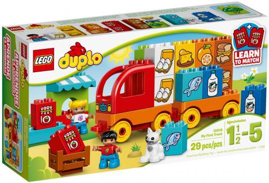Конструктор LEGO Duplo Мой первый грузовик 29 элементов 10818 lego конструктор lego duplo мой первый игровой домик 10616