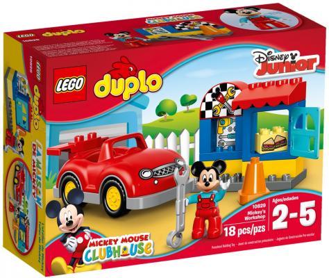 Конструктор Lego Duplo Мастерская Микки 18 элементов 10829