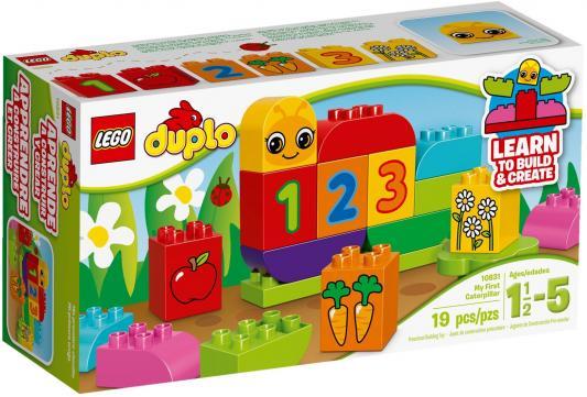 Конструктор LEGO Duplo Моя веселая гусеница 19 элементов 10831