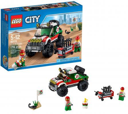 Конструктор Lego City Внедорожник 4x4 176 элементов 60115