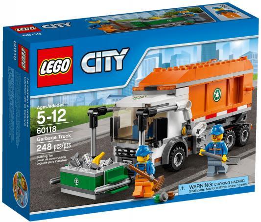 Конструктор Lego City Мусоровоз 248 элементов 60118