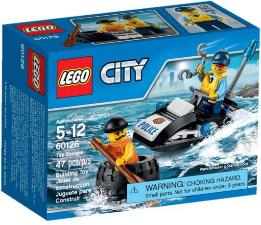 Конструктор Lego City Побег в шине 47 элементов 60126