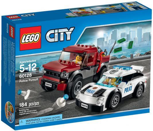 Конструктор Lego City Полицейская погоня 184 элемента 60128