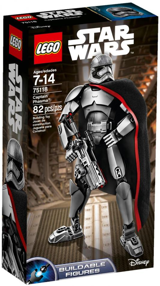 Конструктор Lego Star Wars Капитан Фазма 82 элемента 75118