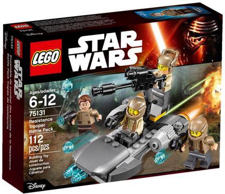 Конструктор Lego Star Wars Боевой набор Сопротивления 112 элементов 75131