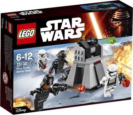 Конструктор LEGO Star Wars Боевой набор Первого Ордена 88 элементов 75132