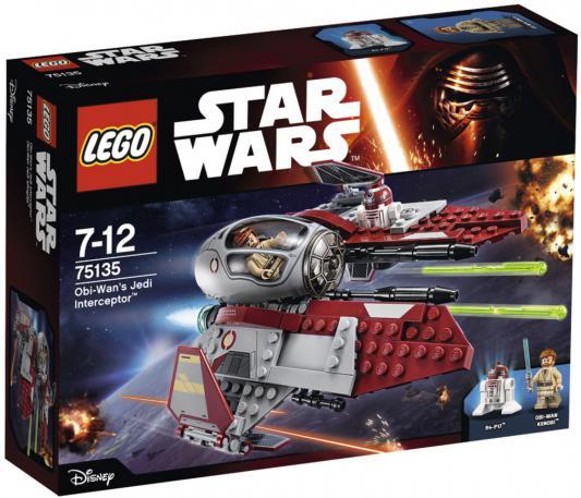 Конструктор Lego Star Wars Перехватчик джедаев Оби-Вана Кеноби 215 элементов 75135
