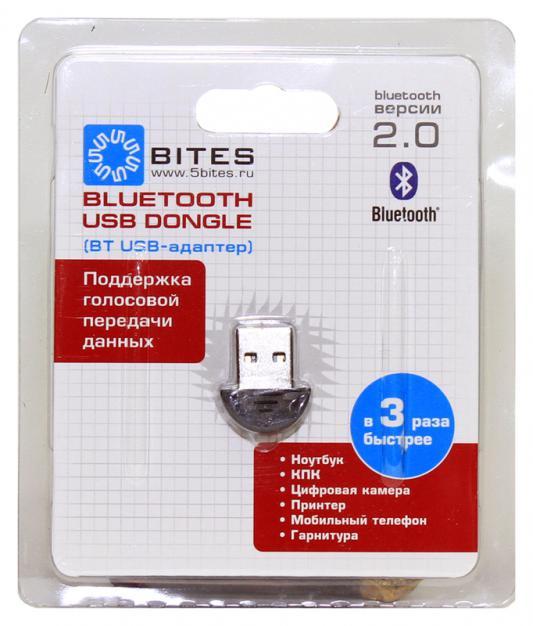 Беспроводной Bluetooth адаптер 5bites BTA20-01 USB