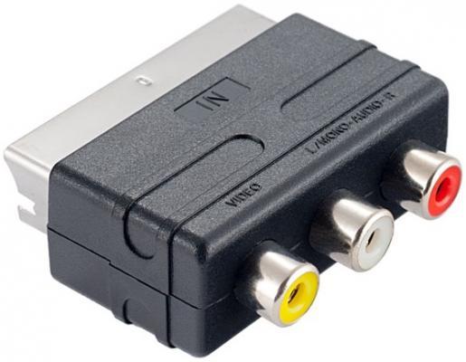 Переходник Perfeo SCART-3xRCA A7007