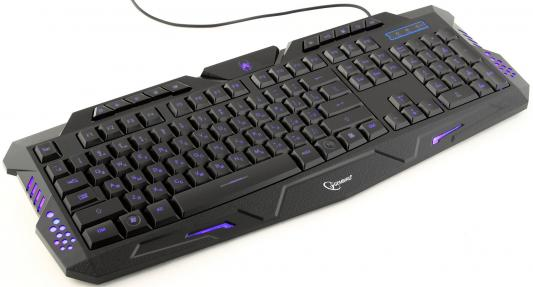 Клавиатура Gembird KB-G11L USB черный цена и фото