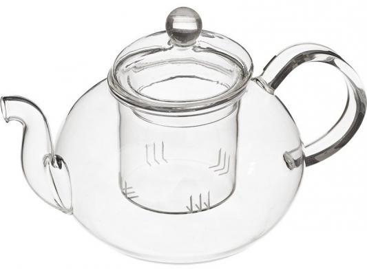 Чайник заварочный Mayer&Boch 24935-МВ прозрачный 0.65 л стекло