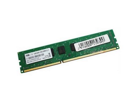 Оперативная память 2Gb PC3-12800 1600MHz DDR3 DIMM Foxline FL1600D3U11S2-2G foxline fl1333d3so9 2g 2gb