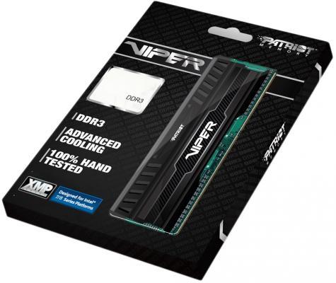 Оперативная память 16Gb (2x8Gb) PC3-12800 1600MHz DDR3 DIMM Patriot PV316G160C0K