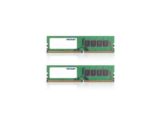 Оперативная память 16Gb (2x8Gb) PC4-19200 2400MHz DDR4 DIMM Patriot PSD416G2400K цена и фото