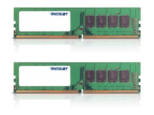 Оперативная память 8Gb (2x4Gb) PC4-19200 2400MHz DDR4 DIMM Patriot PSD48G2400K