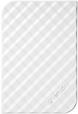 """Внешний жесткий диск 2.5"""" USB3.0 1Tb Verbatim Store n Go белый 53206"""