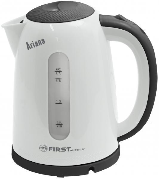 Чайник First 5427-2 2200 Вт серый 1.7 л пластик