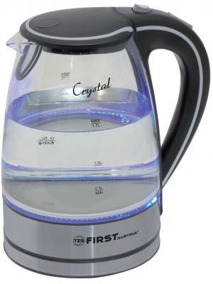 Купить Чайник First 5406-2 BA 2200 Вт чёрный 1.7 л стекло