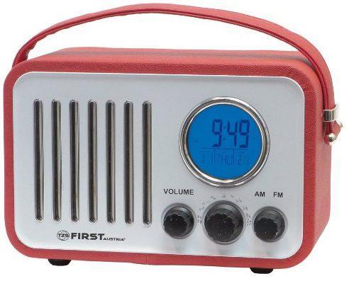 Радиоприемник First 1908-1 красный