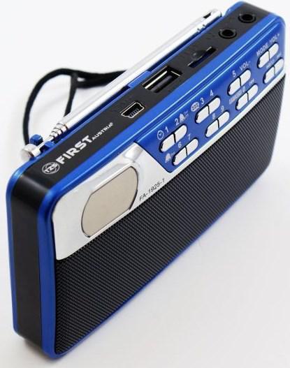 Радиоприемник First 1925-1 синий