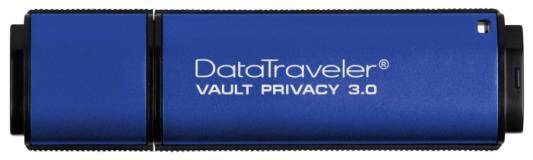 Флешка USB 16Gb Kingston DataTraveler Vault with Privacy DTVP30/16GB синий