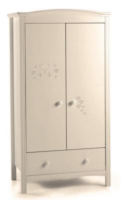 Шкаф двустворчатый Erbesi Incanto (слоновая кость)