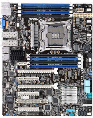 Мат. плата для ПК ASUS Z10PA-U8/10G-2S Socket 2011-3 C612 8xDDR4 2xPCI-E 16x 1xPCI 3xPCI-E 8x 10 ATX
