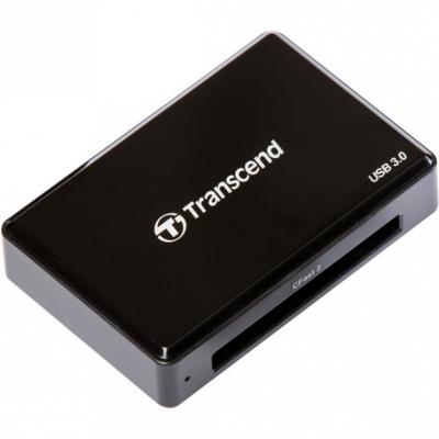 Картридер внешний Transcend TS-RDF2 USB3.0 CFast 2.0/CFast 1.1/CFast 1.0 черный картридер внешний transcend ts rdf2 usb3 0 cfast 2 0 cfast 1 1 cfast 1 0 черный