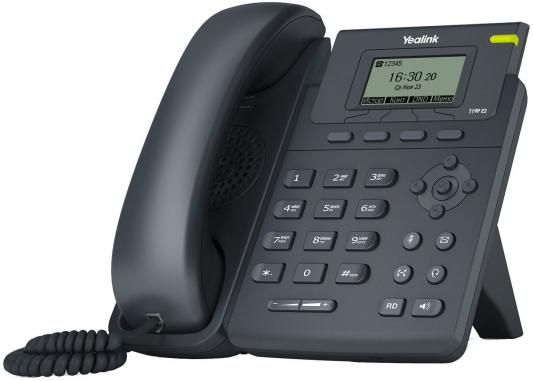 Телефон IP Yealink SIP-T19P E2 1 SIP-аккаунт 2x10/100Mbps 2.3 LCD PoE телефон ip grandstream gxp1760 6 линий 3 sip аккаунта 2x10 100mbps lcd poe blf