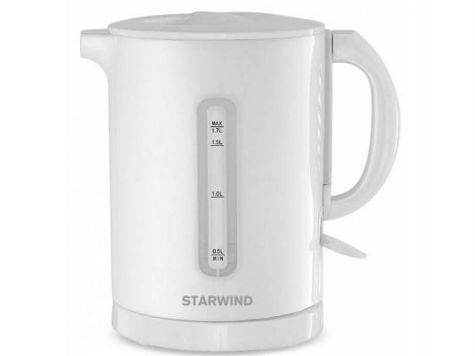Чайник StarWind SKP1431 2200 Вт белый 1.7 л пластик