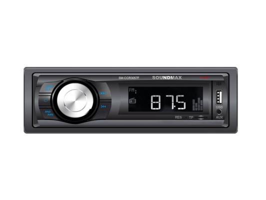 Фото - Автомагнитола Soundmax SM-CCR3057F USB MP3 microSD 1DIN 4x40Вт черный брелок многофункциональный hi tech dt 377