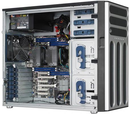 Серверная платформа Asus TS500-E8-PS4 V2 серверная платформа asus ts300 e8 ps4