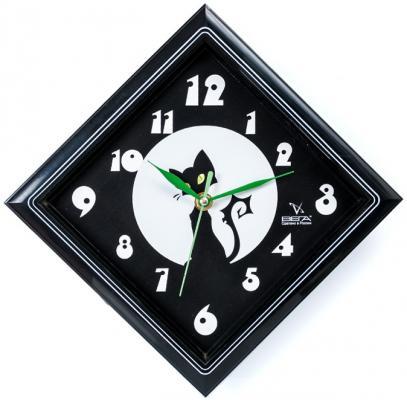 Часы настенные Вега П 3-673-1 чёрный