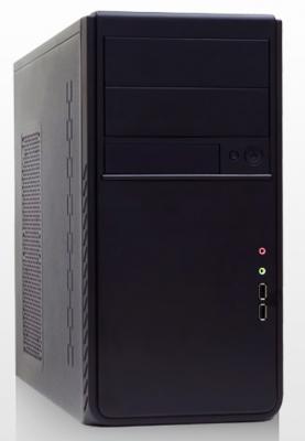 Корпус microATX Foxline FL-516-FZ450R 450 Вт чёрный корпус atx foxline fl 911b 450prs 450 вт чёрный