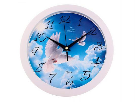 Часы настенные Вега П 1-7/7-188 часы настенные вега п 4 14 7 86 новогодние подарки