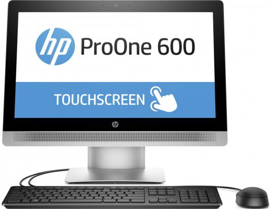 "Моноблок HP ProOne 600 G2 21.5"" 1920x1080 i3-6100 2.3GHz 4Gb 500Gb Intel HD DVD-RW Wi-Fi Win10Pro клавиатура мышь T4J58EA"
