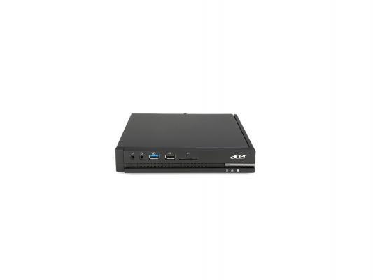 Неттоп Acer Veriton N2510G N3050 1.6GHz 2Gb 16Gb SSD Intel HD WiFi DOS клавиатура мышь черный DT.VMFER.013