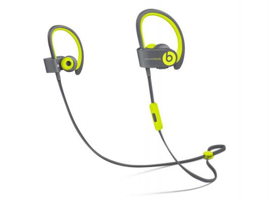 Наушники Apple Beats Powerbeats 2 WL Active Collection желтый/серый MKPX2ZE/A