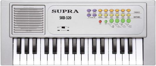 Синтезатор Supra SKB-320 32 клавиши серебристый