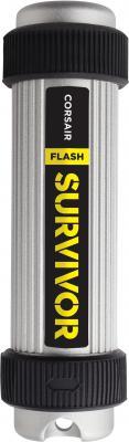 все цены на  Флешка USB 64Gb Corsair Survivor CMFSV3B-64GB серебристый/черный  онлайн