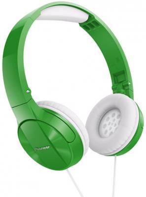 Купить со скидкой Наушники Pioneer SE-MJ503-G зеленый
