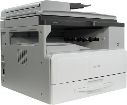 МФУ Ricoh MP 2014AD черно-белый A3 600x600 dpi 20ppm USB 912356 ricoh mp 2014ad