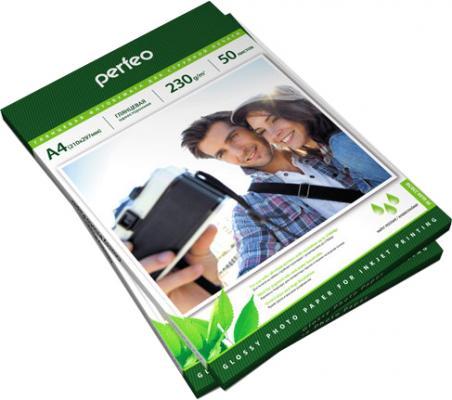 Фотобумага Perfeo PF-GLA4-230/50 А4 230г/м2 глянцевая 50л купить