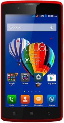 "Смартфон Lenovo A2010-A красный 4.5"" 8 Гб LTE Wi-Fi GPS PA1J0142RU"