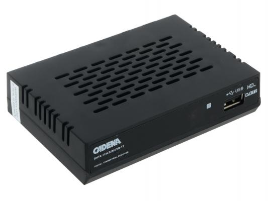 Тюнер цифровой DVB-T2 Cadena 1104T2N
