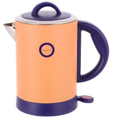 Чайник Великие реки Чая-7А 1800 Вт оранжевый 1.8 л нержавеющая сталь