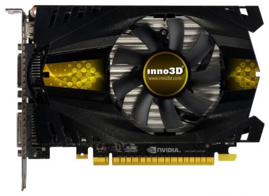 Видеокарта 2048Mb Inno3D GeForce GTX750Ti PCI-E 128bit GDDR5 2xDVI miniHDMI HDCP N75T-1DDV-E5CW Retail