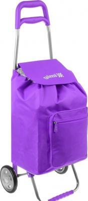 Сумка-тележка Универсальная Gimi Argo полиэстер пластик фиолетовый сумка тележка gimi easy синяя
